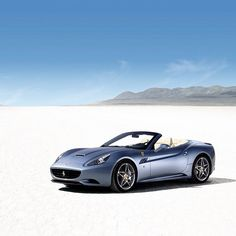 Ferrari California - Desert Dreaming