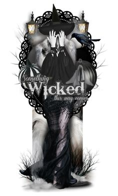 """Wicked"" by mew-muse ❤ liked on Polyvore featuring art"