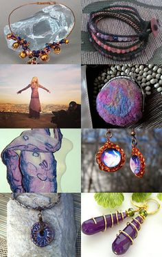 love me some purples and golds by Julie Pauly on Etsy--Pinned with TreasuryPin.com