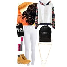 A fashion look from February 2015 featuring Pieces leggings, Timberland boots and Mi-Pac backpacks. Browse and shop related looks.