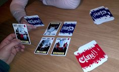 Clang! is a combat card game for 2 to 5 players, with great artwork, simple rules, and an easy, numberless game system - ideal for the casual gamer!