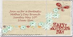 Take your mother to Terra's Mother Day Brunch between 10 am and 3 pm.  Here is a link to their brunch menu!  http://terragr.com/wp-content/uploads/2015/04/mothers-day-2015-website.pdf