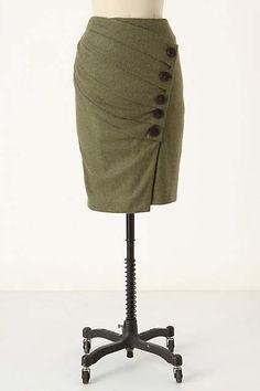 Higgledy-Piggledy Pencil Skirt by Eva Franco
