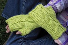 green giant fingerless mitts free
