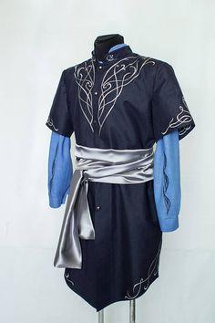 Handcrafted men s Elven costume