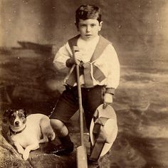 1880s BOY & JACK RUSSELL TERRIER DOG CABINET CARD PHOTO VICTORIAN CHELTENHAM | Collectables, Photographic Images, Antique (Pre-1940) | eBay!