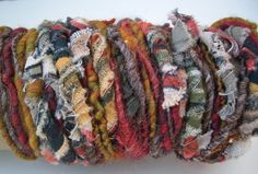 "MyMixMix on Etsy. ""Weeping Woman"" poquito skein mixed fiber hand-spun art yarn."