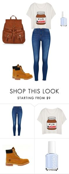 """""""School Outfit"""" by izzybelle1013 on Polyvore featuring Timberland, Essie and Accessorize"""