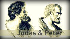 Peter and Judas - http://redeeminggod.com/sermons/miscellaneous/peter-and-judas/