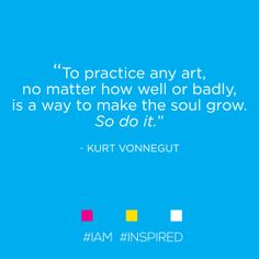 #IAM #INSPRED by #KURTVONNEGUT