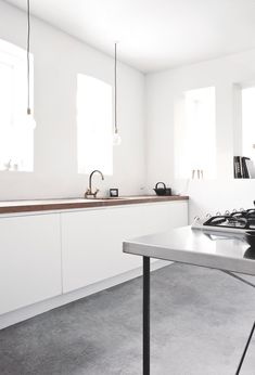 Scandinavian kitchen. Vedbaek House IV by Norm.Architects. © Jonas Bjerre-Poulsen.