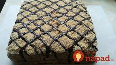 Domácí poctivá marlenka s jednoduchou přípravou! Sweet Desserts, Sweet Recipes, Dessert Recipes, Non Plus Ultra, Cake Cookies, Cupcakes, Pavlova, Deserts, Muffin