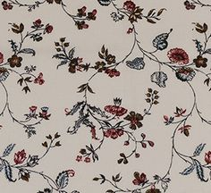 Francis Open Floral Cotton Fabric
