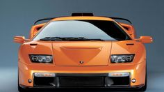 lamborghini-diablo orange