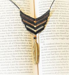 Hey, I found this really awesome Etsy listing at https://www.etsy.com/il-en/listing/532850560/v-shaped-macrame-pendant-with-adjustable