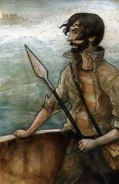 Odysseus, by Brett Grunig
