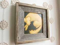 Dog Nursery Art Giclee Print - Old Sultan, canvas print