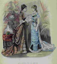 Les Modes de la Saison 1878