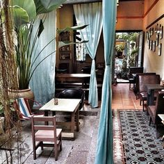 The cafe at Moontree 47, Jalan Muntri, Georgetown, Penang, Malaysia