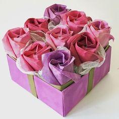Origami Rosebox