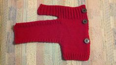Ravelry: Side Button Dog Sweater by Alisha Hansen