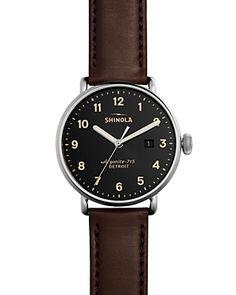 Shinola Canfield Classic Watch, 43mm