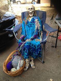 Halloween granny skelly HF member