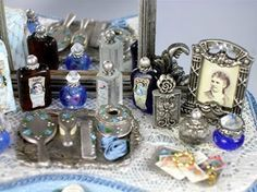 Cynthia Howe Tutorial: turn beads and findings into miniature perfume bottles