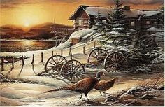 Terry Redlin Peaceful Evening ... Reminds me of Tim & is my favorite piece of art.