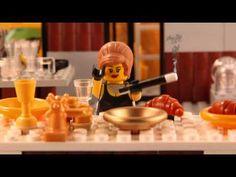 Les scènes de cinéma les plus célèbres en animation Lego