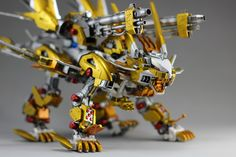 MECHA GUY: ZOIDS: RZ-041 Liger Zero Jager w/ Pantzer Parts - Painted Build