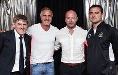 Beardsley, Ginola, Shearer, Harper Newcastle United Wallpaper, Newcastle United Fc, St James' Park, Back In The Day, The World's Greatest, Chef Jackets, Football, 4 Life, History