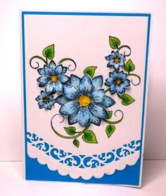 Sun Kissed Fleur by poppypoodle - Cards and Paper Crafts at Splitcoaststampers