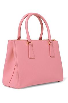 Prada - Galleria Medium Textured-leather Tote - Pink - one size