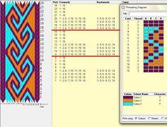 Diseño 16 tarjetas, 3 colores, repite dibujo cada 8 movimientos // sed_34 ༺❁