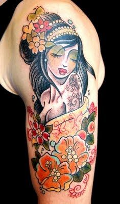 RINGKES TATTOOS: Gypsy Lady Tattoo Designs