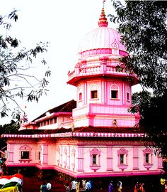 """Goa - Temples    The Lahiraee temple at Usgao in Goa's mining belt and the venue of the famed """"fire-walking"""" zatra (Hindu festival) which was held on April 21, 2007, with thousands of devotees from all over Goa attending the nocturnal event."""