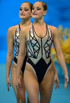 Nick Verreos: London 2012 Olympics Fashion Minute: Synchronized Swimming Costumes--All the Bezazzled Haute Couture!