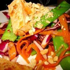 Asian Tofu Peanut Salad