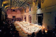 Cai Guo-Quiang l?artista che dipinge con la polvere da sparo fa scintille al Museo del Prado