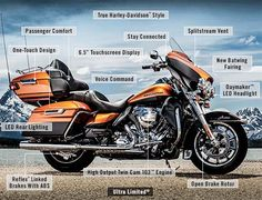 RE-PIN THIS!!! http://www.cardosystems.com/ What Is New On The 2014 Harley-Davidson Ultra Limited.
