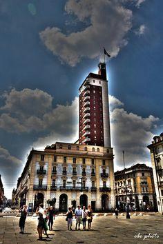 Torre Littoria di Torino di proprietà di Reale Mutua Assicurazioni