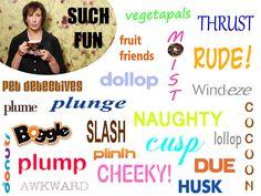"""Miranda Hart """"Such Fun"""" - catch phrases"""