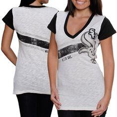Chicago White Sox Womens Zone Coverage T-Shirt - White