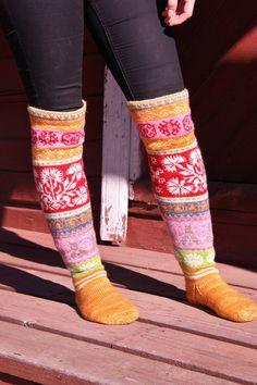 Ravelry: KatjafromFin's Loistavat niityt – Great Meadows (Muhu Island Socks)
