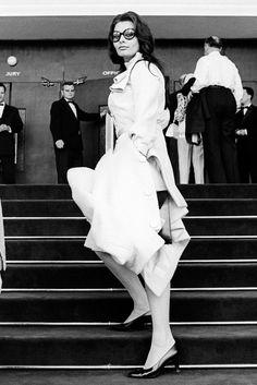Sophia Loren at Cannes in 1966