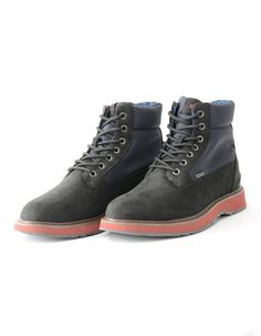 b9d229a54c Barry Workboots from SWIMS available here in black have durable and  flexible TPU uppers with ventilation