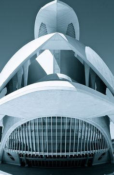 Valencia Opera House (Queen Sofia Palace of the Arts) - Spain #architecture ☮k☮