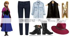 Princess Anna, Street Style, Style, Fashion, What I Wore, Outfit of the Day, Disney, Frozen
