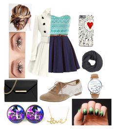 """""""Untitled #23"""" by life-sucks4664 ❤ liked on Polyvore featuring MICHAEL Michael Kors, Frenchi, Benefit and Minnie Grace"""